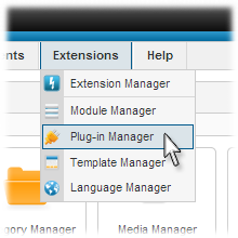 Joomla Plugin Configuration Set Up Arizona