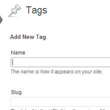 WordPress Post Tags
