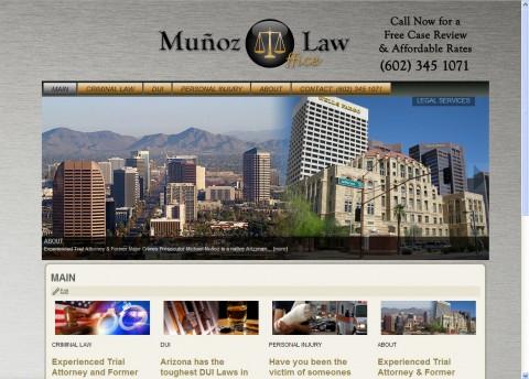 Munoz Law Website