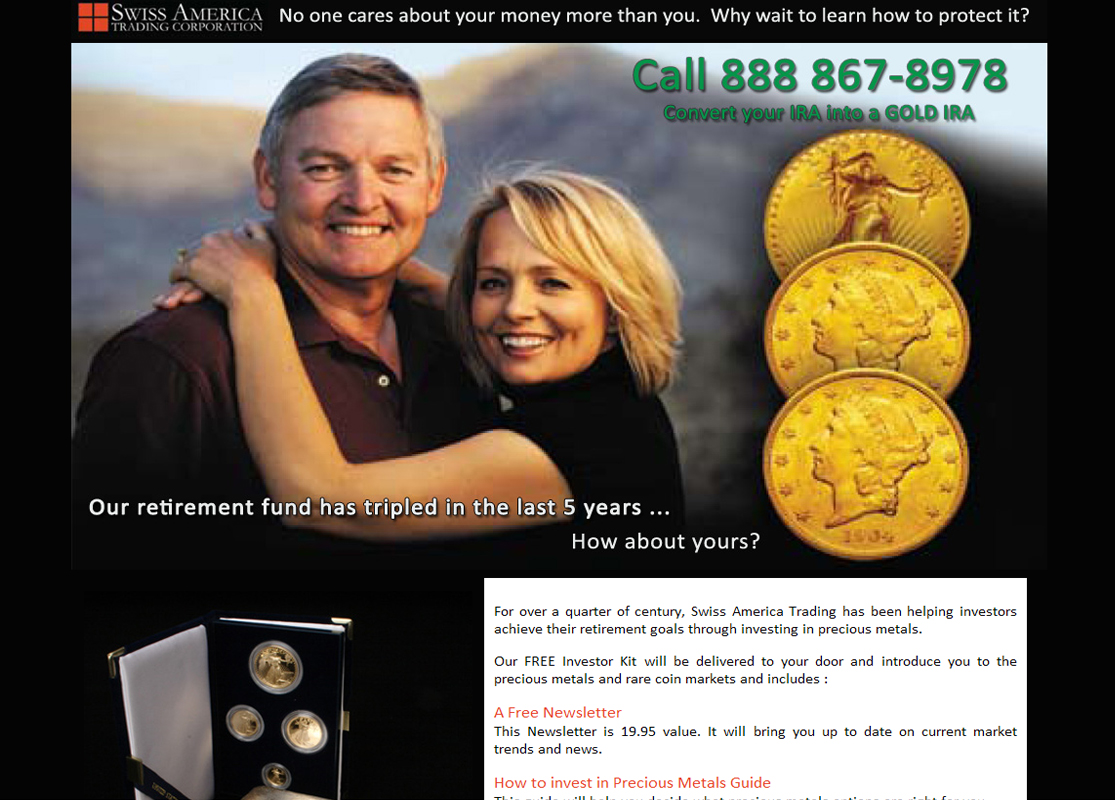 Swiss America Trading Corporation WordPress Website by Web Guy Arizona