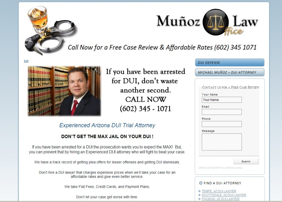 Munoz Law Website