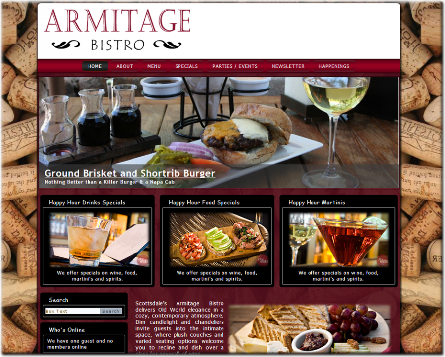 Armitage Website