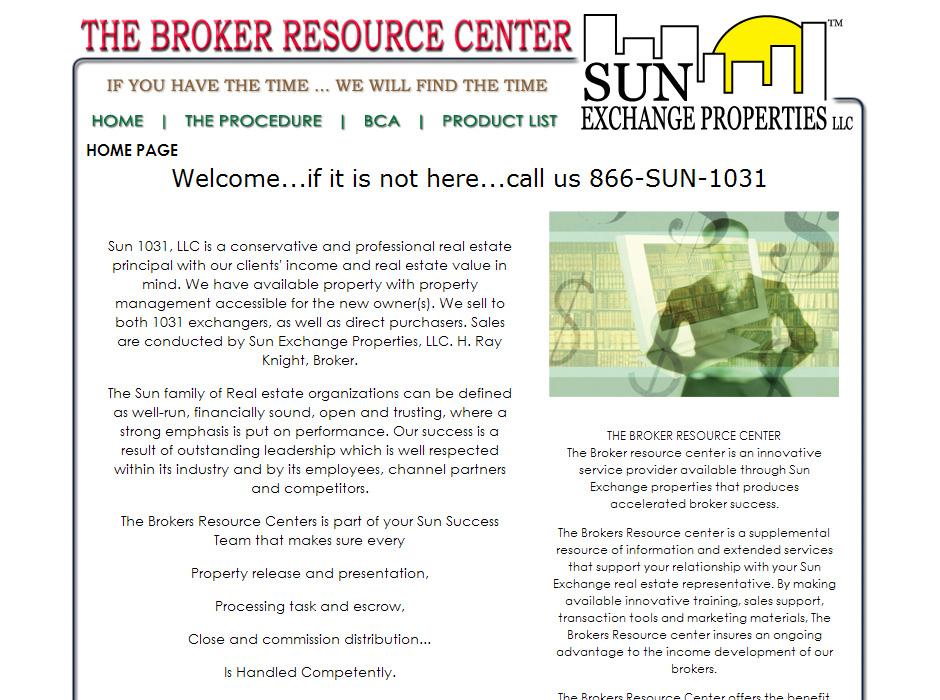 The Broker Resource Center Website by Web Guy Arizona