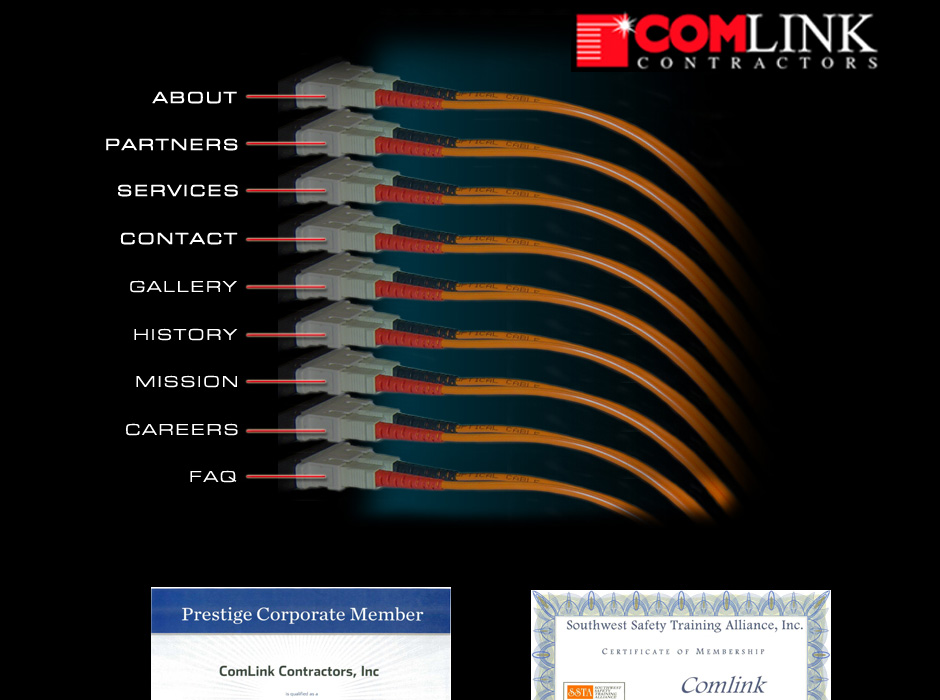 Comlink Contractors Website by Web Guy Arizona