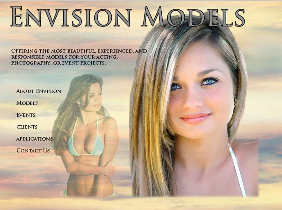 Envision Models Website