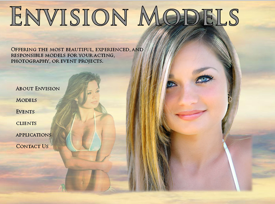 Envision Modeling Website by Web Guy Arizona