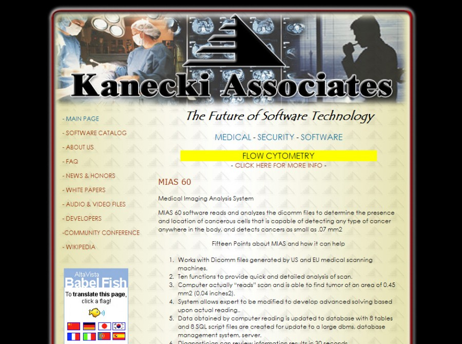 Kanecki Associates Website