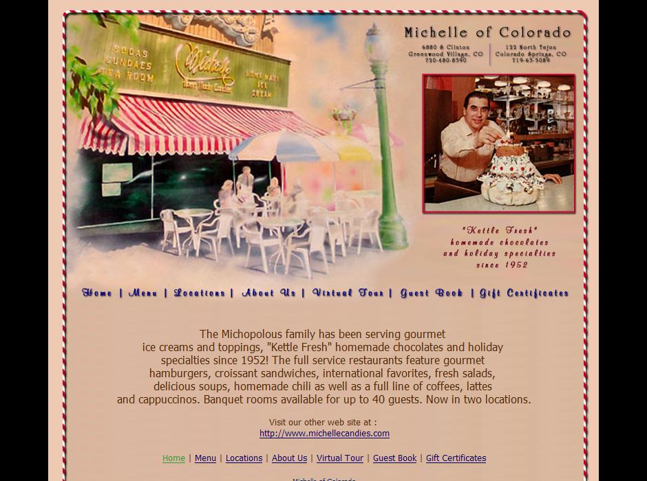 Michelle of Colorado Website by Web Guy Arizona