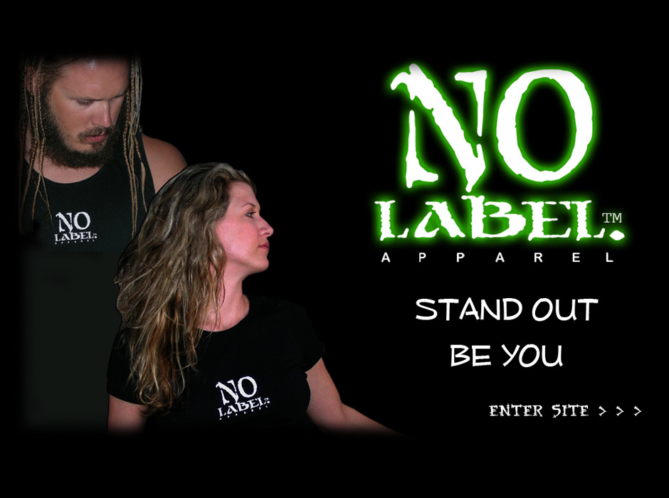 No Label Apparel Website by Web Guy Arizona