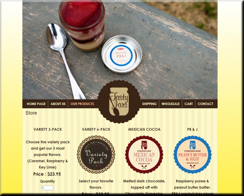Tasty Jars Website