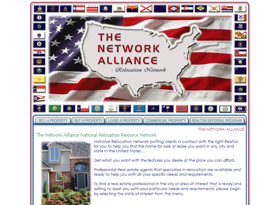 The Network Alliance Website by Web Guy Arizona