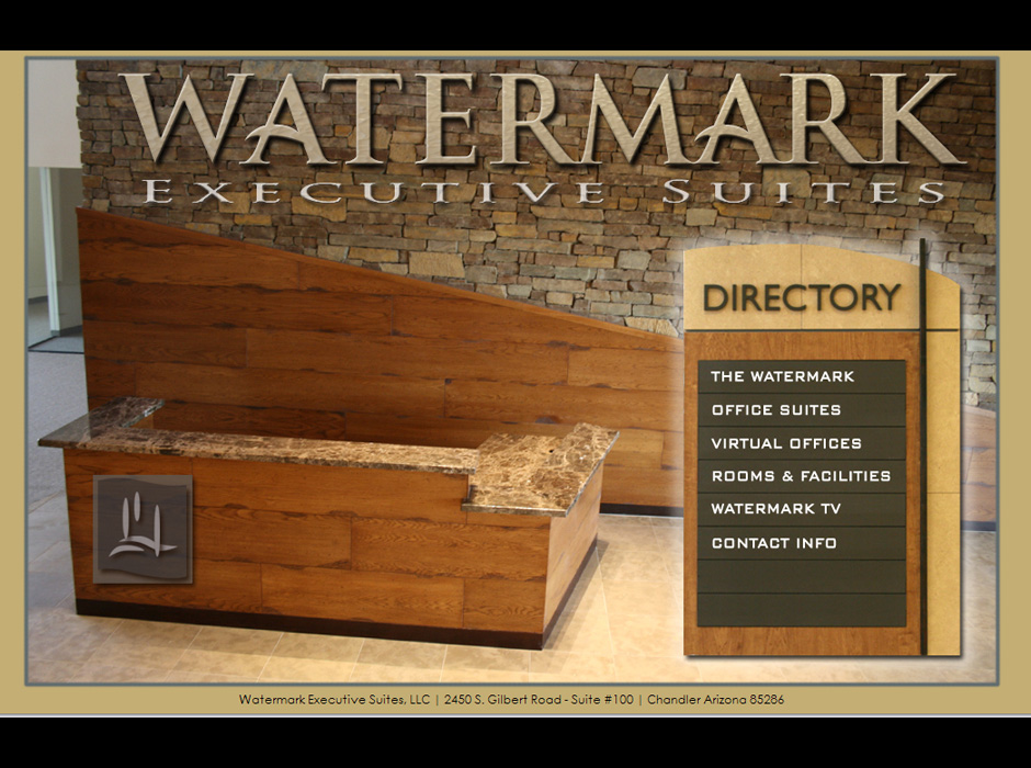 Watermark Executive Suites WordPress Website by Web Guy Arizona