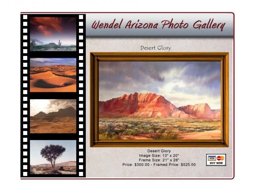 Wendel Arizona Photo Gallery Website