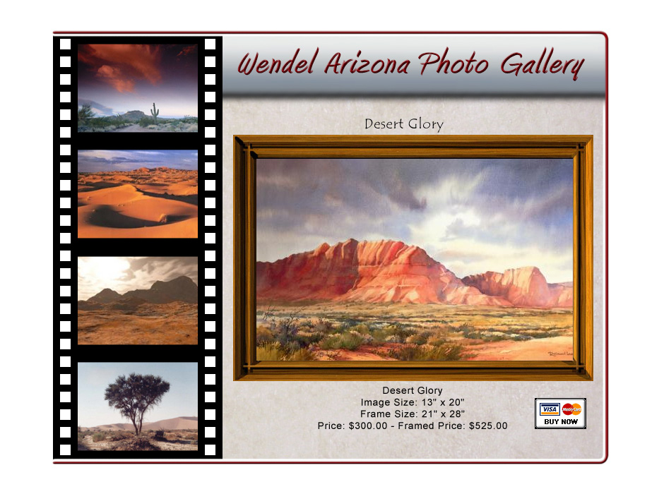 Wendel Arizona Photo Gallery WordPress Website by Web Guy Arizona