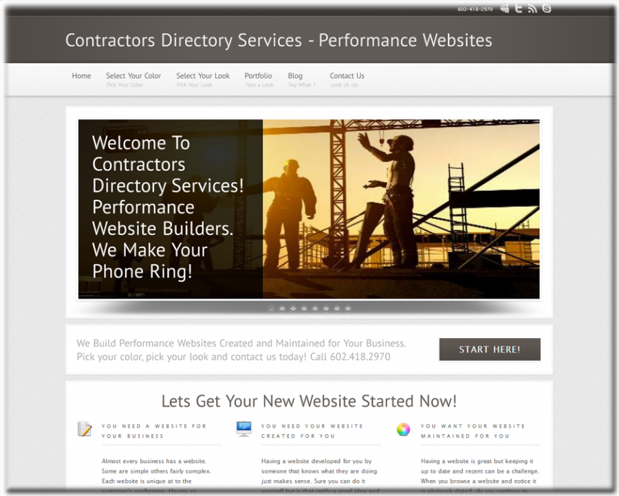 Contractors Directory Services