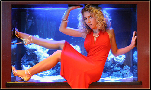 Digital Photography and Editing Hot Model Photo