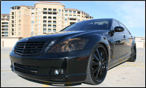 Digital Photography and Editing Luxury Car Photo