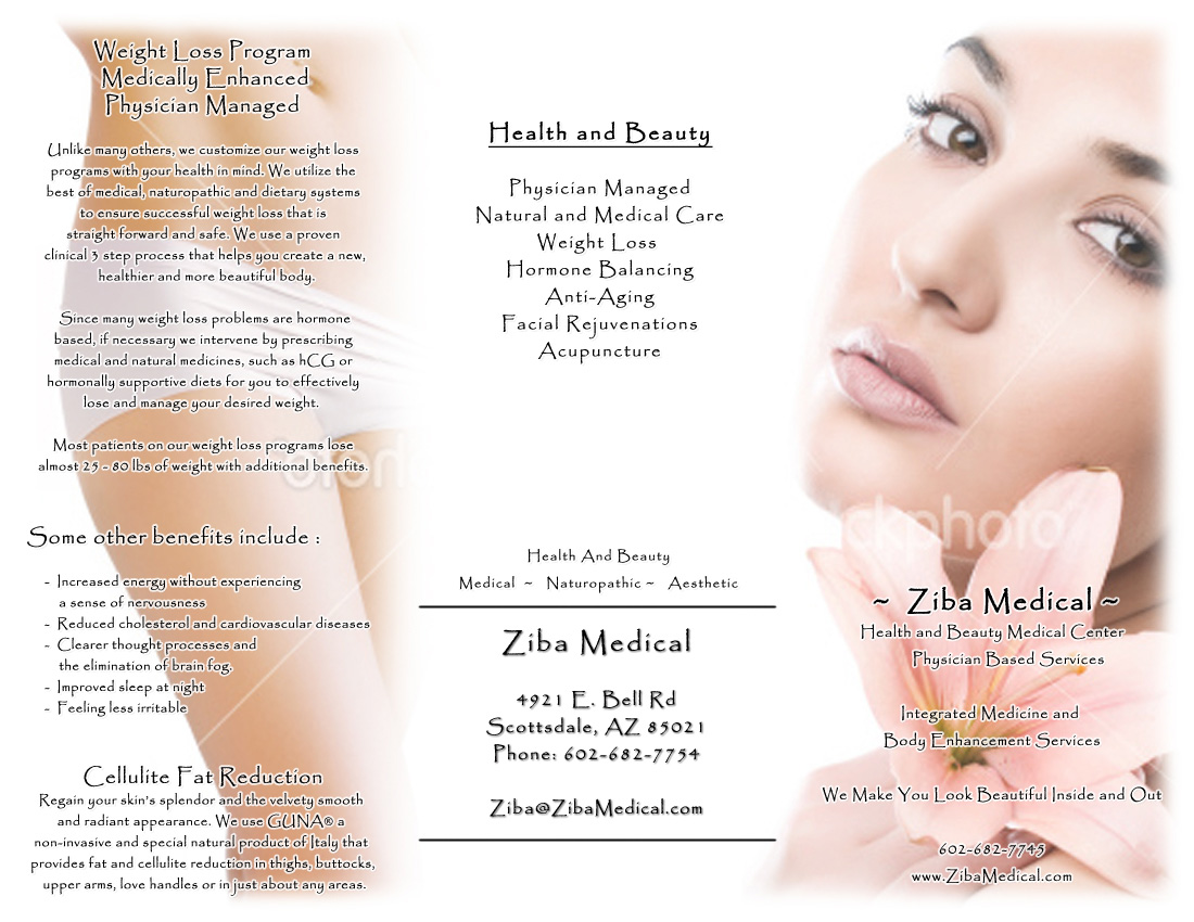 Digital Photography and Editing Brochure Layout