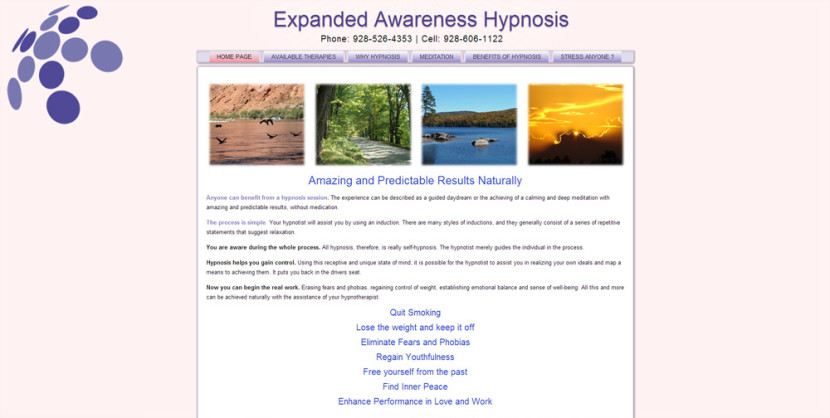 Expanded Awareness Web Site