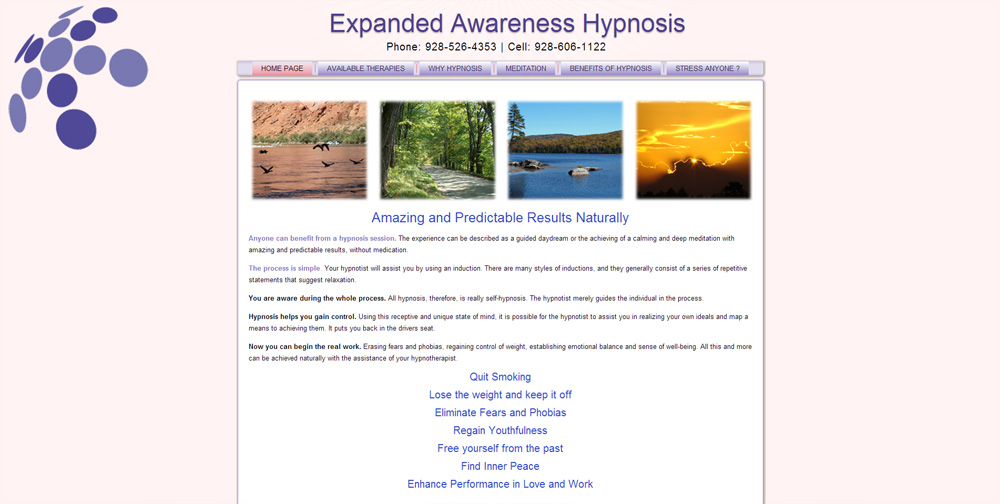Expanded Awareness Website