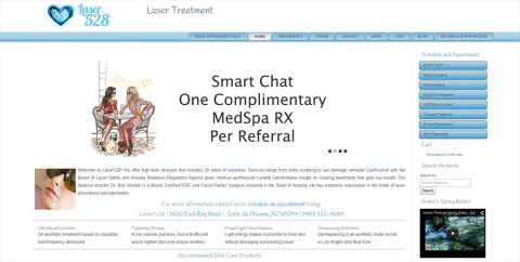 Laser Web Site