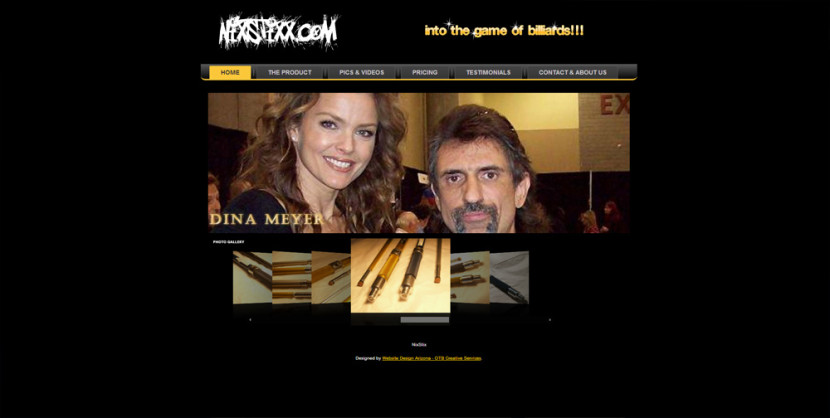 Nix Stixx WordPress Web Site