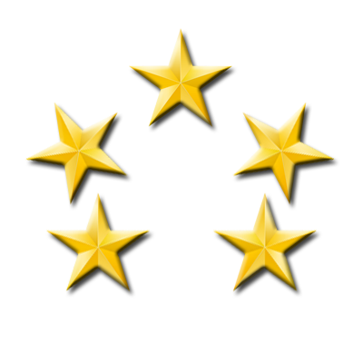 5 out 5 Star Reviews