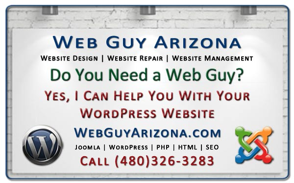 Yes, I Can Help You With Your WordPress Website