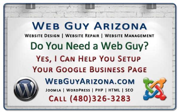 Yes, I Can Help You Setup Your Google Business Page