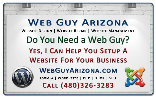 Yes, I Can Help You Setup A Website For Your Business